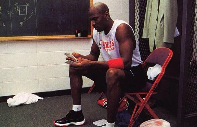 61000ab7b763 Michael Jordan Wore the
