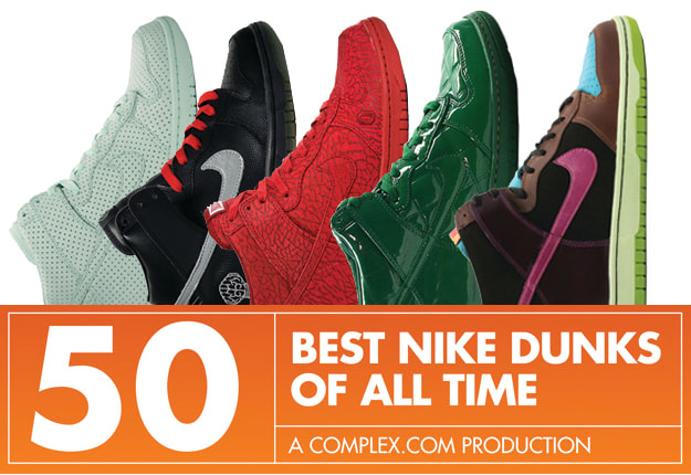 4276dd5660b3 The 50 Best Nike Dunks Of All Time