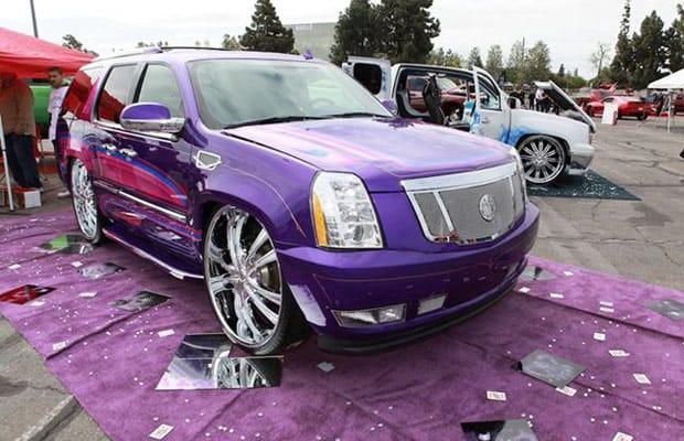 Cadillac Escalade - 40 Insane Custom Cars From the DUB Show Tour | Complex