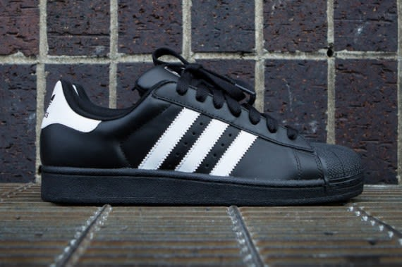 save off 010b0 4cd52 adidas Originals revitalizes one of the classic Shelltoe looks with this  new black and white colorway release of the Superstar 2.