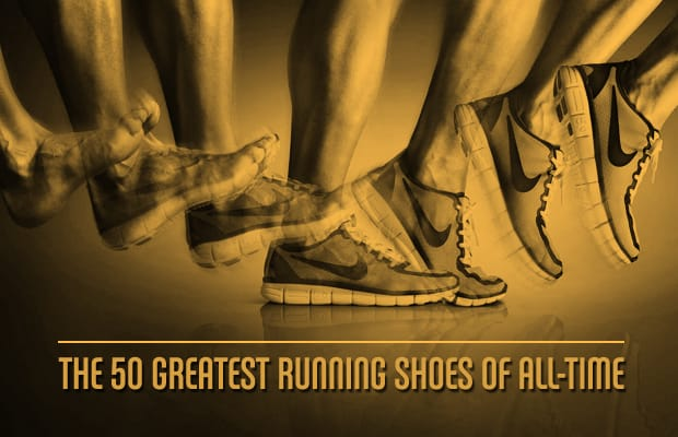 sports shoes f60aa e3de6 So to commemorate the end of summer, we called on all-around sneaker expert  Gary Warnett to compile his list of The 50 Greatest Running Shoes ...