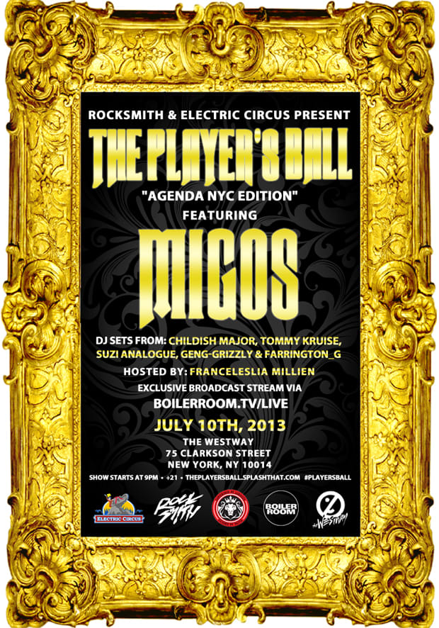 Electric Circus Brings Migos To The Westway In Nyc On 7 10