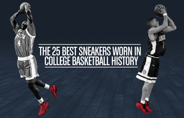 reputable site ab9eb c9b1a March Madness  The 25 Best Sneakers In College Basketball History ...