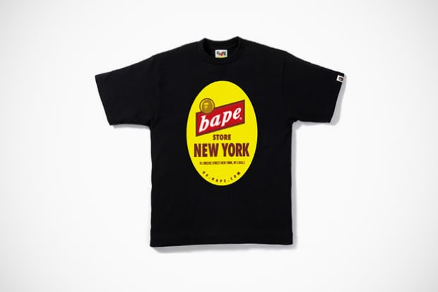 Bathing Ape New York Celebrates 7th Anniversary With Dope Tee  a43f64ec9239