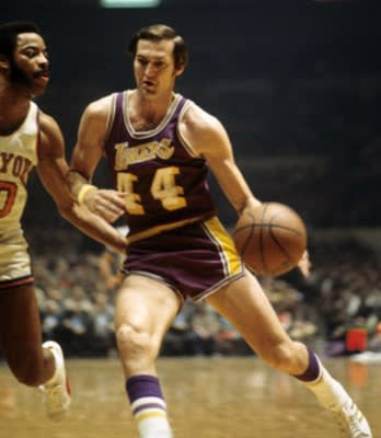 Jerry West is the only Finals MVP to win the award while ...