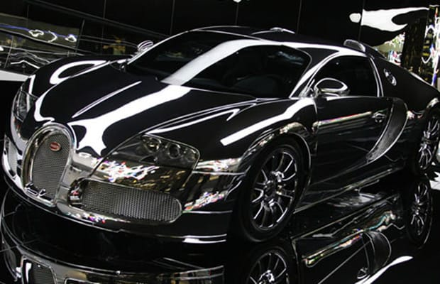 Bugatti Veyron 25 Crazy Custom Chrome Cars Complex