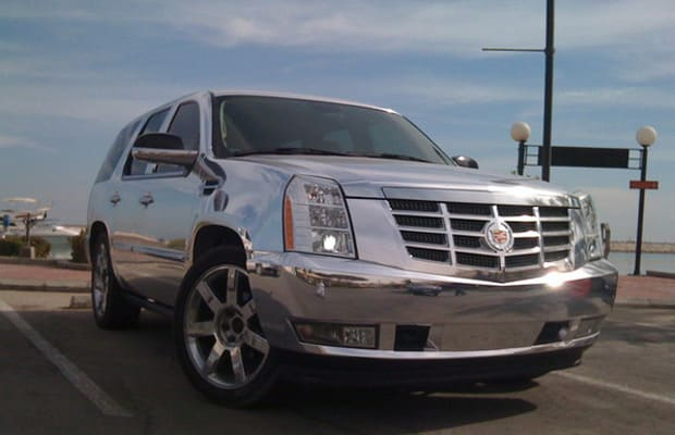 Crazy Custom Chrome Cars Complex - Show rims on car before you buy
