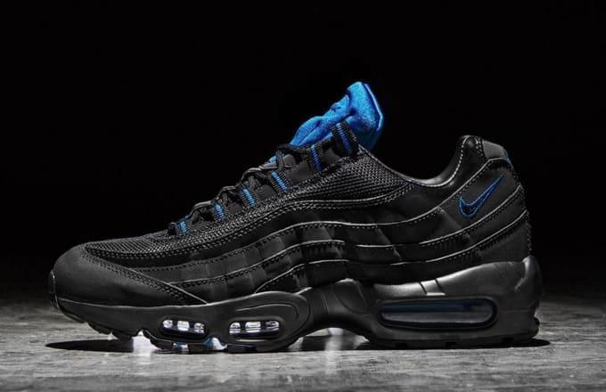 nike air max 95 blue and white stripes