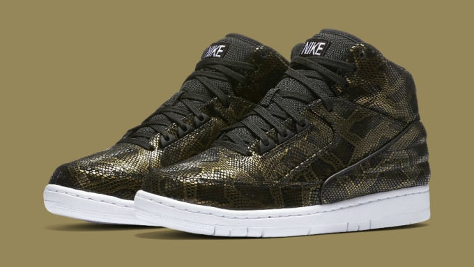 best sneakers 3ea55 71a05 ... Nike Air Python Black Gold (1) ...