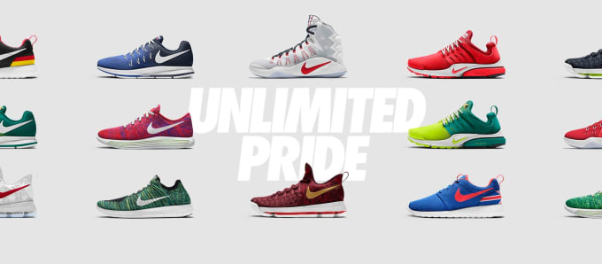 801d067a65dd6e The Olympic-Inspired Unlimited Pride Collection Is Coming to NIKEiD. Images  via Nike