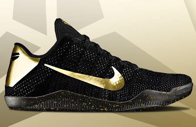 detailed look 6af91 5d349 Eastbay Is Celebrating Kobe Bryant s Final Season by Giving Away These  Custom Nike Kobe 11s