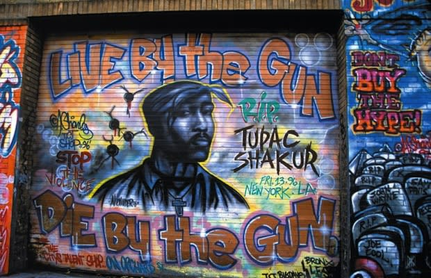 1997 gallery new york city in the 1990s complex for 2pac mural new york
