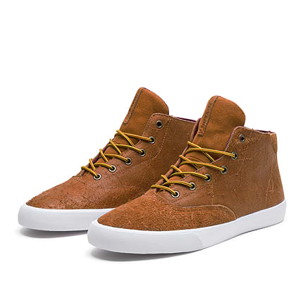 e43fac29ac41 Supra goes with a somewhat natural aesthetic on this new delivery of its  casual Wrap Up model. The mid-top sneaks have been comprised of oiled