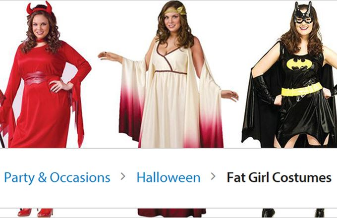 "37fb08fcd1cc4 Walmart Now Calling Their Plus Size Halloween Gear ""Fat Girl ..."