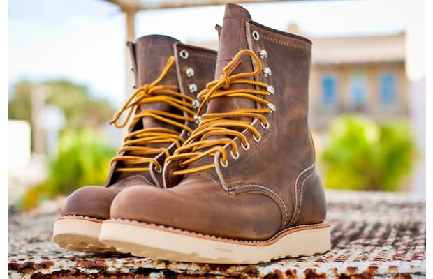 e7550e89784 High-quality boot makers Red Wing released a limited edition round toe exclusively  available at select Nordstrom locations throughout the U.S. The Heritage ...
