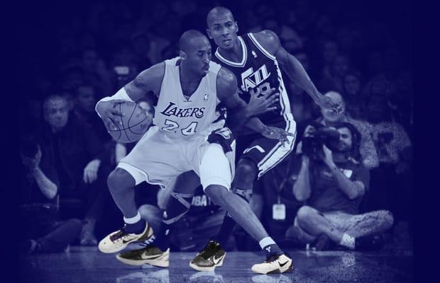 reputable site 65922 3c8f0 15 NBA Players Wearing Kobes Against Kobe Bryant