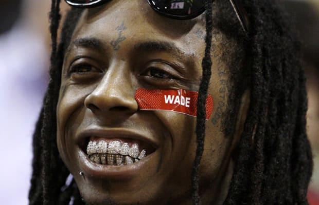 Lil Wayne's diamond dubbed teeth