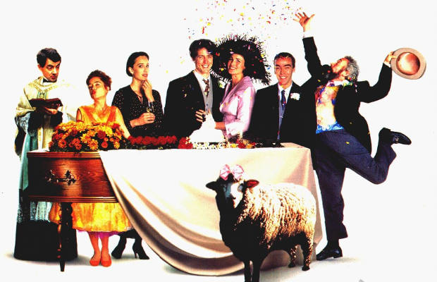 Four weddings and a funeral the 25 best british comedy for Four weddings and a funeral director mike