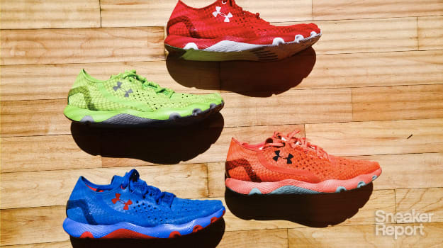 """bb9498c71 Dave Dombrow and Kevin Fallon Discuss the Under Armour SpeedForm and How  They Plan To Own """"Fit"""""""