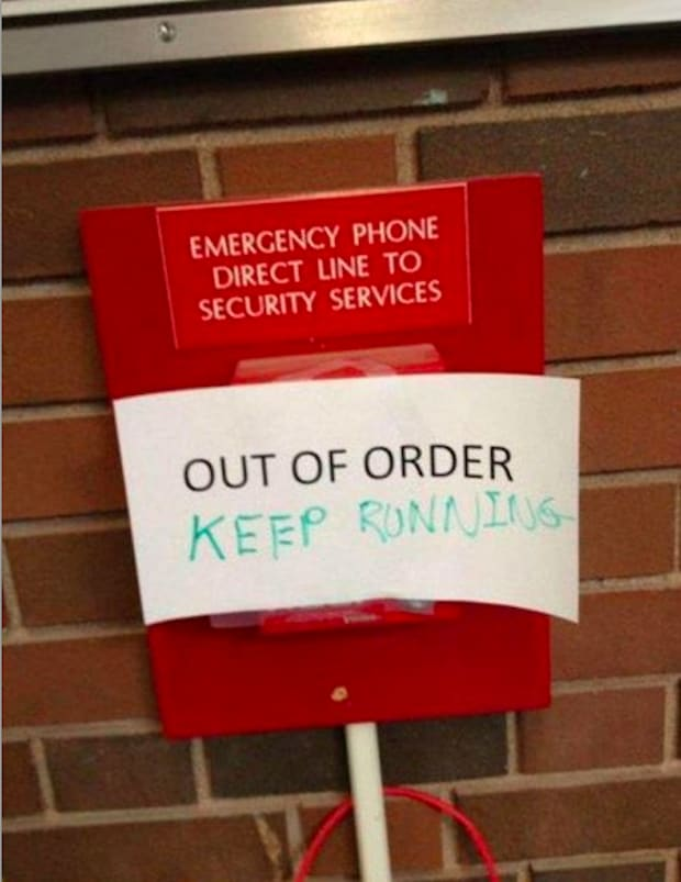Bathroom Sign Out App 25 hilarious out of order signs | complex