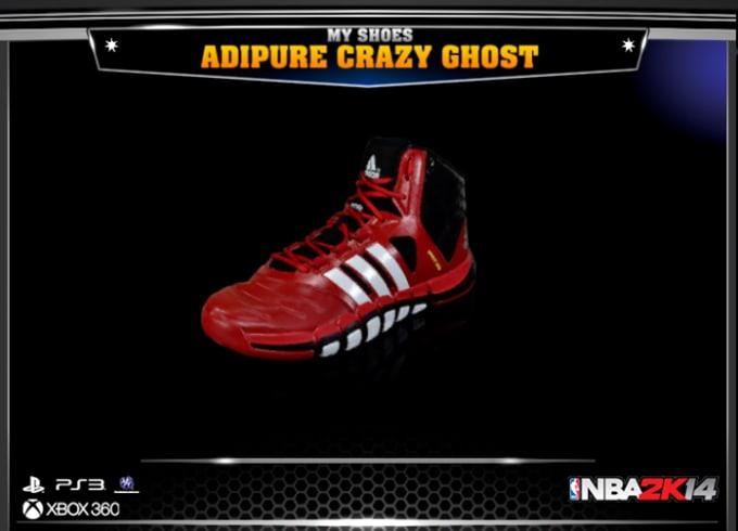 sports shoes 906b4 56778 1. adidas adipure Crazyghost