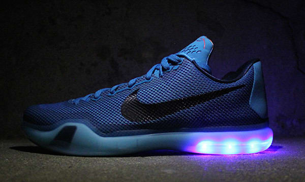 a company is making light up nike sneakers and they re literally lit