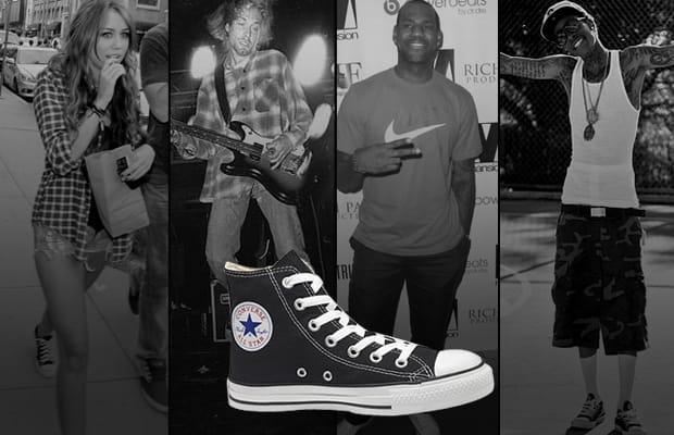 Sneaker được ưa chuộng bởi giới trẻ