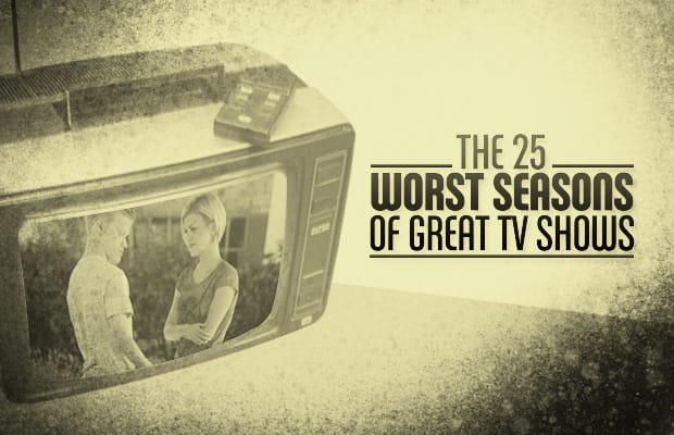 The 25 Worst Seasons Of Great Tv Shows Complex