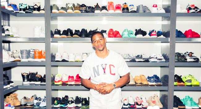 Victor Cruzu0027s Insane Sneaker Closet | Complex