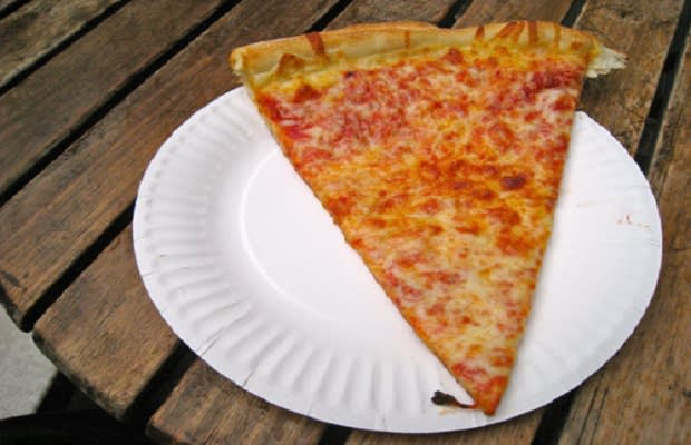 The 1 Slice Of Pizza Is Obviously A Cost Efficient Alternative To What The Wall Street Journals Midpriced Pizza Places Located In Manhattan