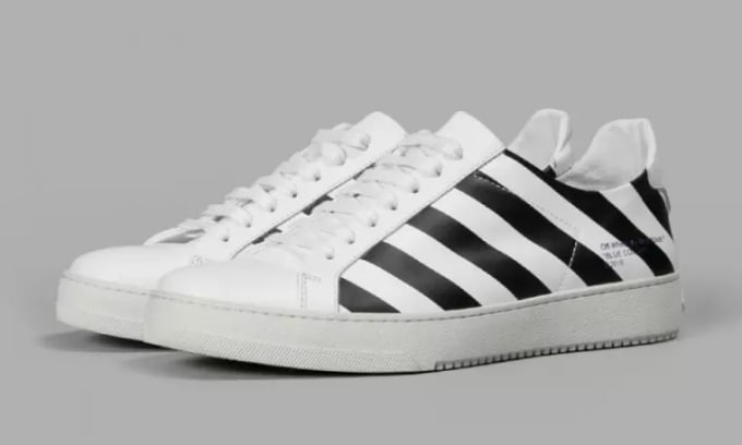 1116ca1c7b9f All Images via Antolioni. It looks like Virgil Abloh is finally blessing  dudes with their own Off-White sneakers.