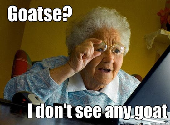 Funny Meme Upload : Goatse the funniest grandma finds internet