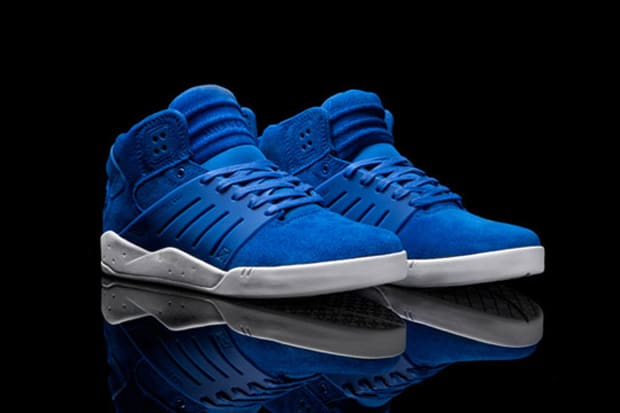 Chad Muska s latest Skytop III from Supra drops in a fresh Royal Blue suede  just in time for August. What else is there to say  We approve. 64adf11841
