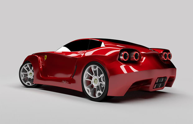 Ferrari Fx1 RR Concept - 25 Cars Inspired by Airplanes and ...
