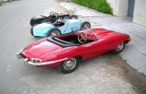 the harrington group in london is a well known maker of ultra expensive toy cars for kids this sleek triumvirate was built in 2009 and quickly found