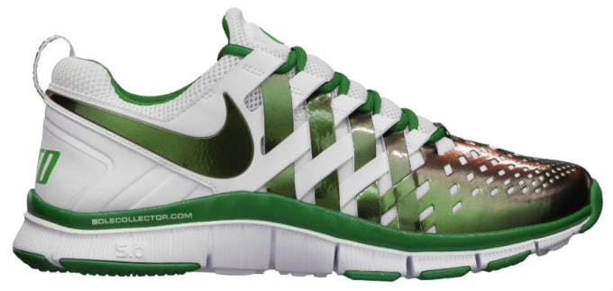 sale retailer 9ab35 a7702 To coincide with Oregons first football game of the season on August 31,  the Swoosh will be releasing an appropriated edition of its Free Trainer  5.0, ...