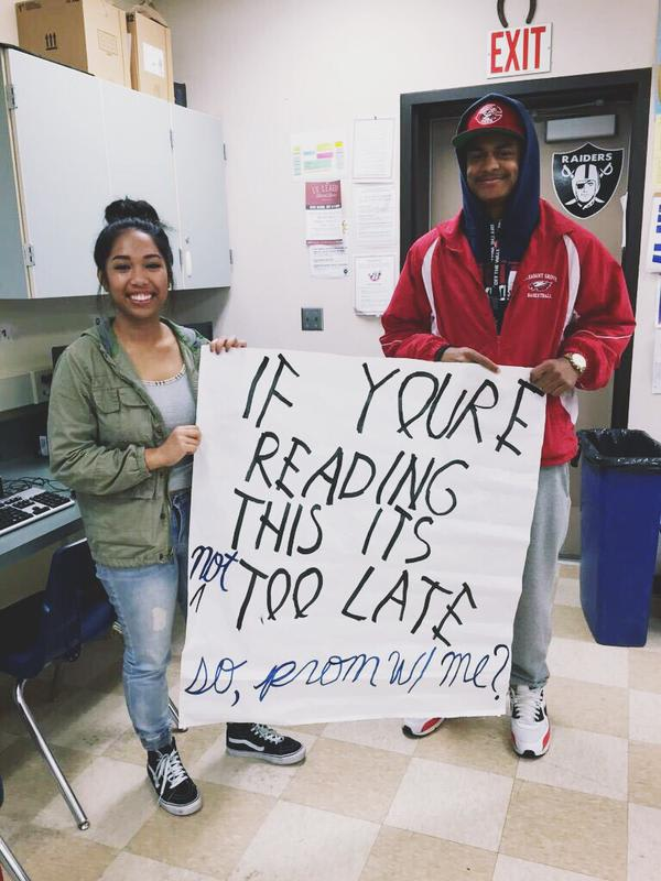 You Only Prom Once 10 Drake Themed Promposals Complex