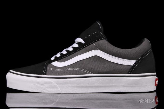 54aa9d8933f0 Vans  Old Skool silhouette gets a rather toned-down paint job