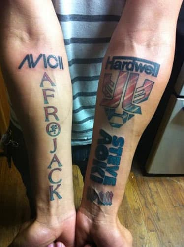 25 Regrettable Edm Tattoos Complex