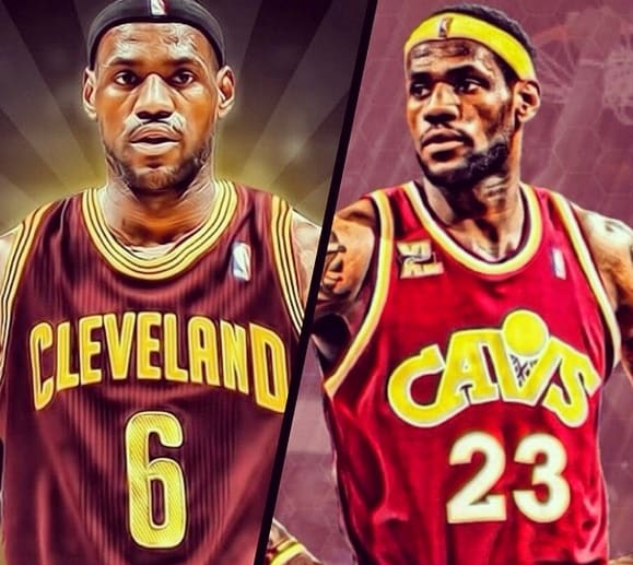 f1a9ee921b85 Did LeBron James Make Right Decision Choosing No. 23 Instead No. 6 ...
