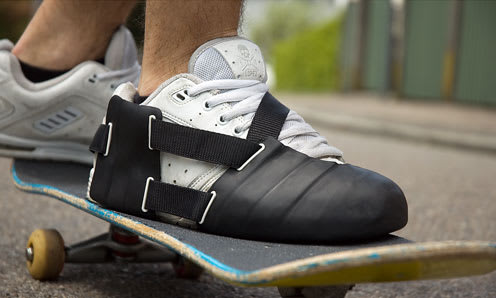 b9367123c0ff Image via Coroflot. There s no way around it — skateboarding can do a  number on your sneakers.
