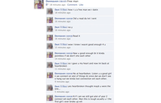 The Most Hilarious Facebook Breakups Complex