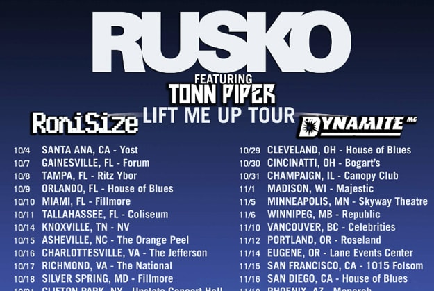 rusko-tour-fall-2013-clip