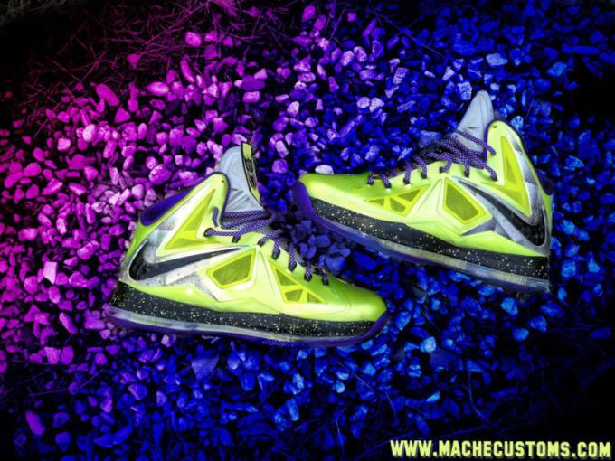 10cfbc4262f6 Self Made  Mache s 10 Greatest Custom Sneakers of 2012