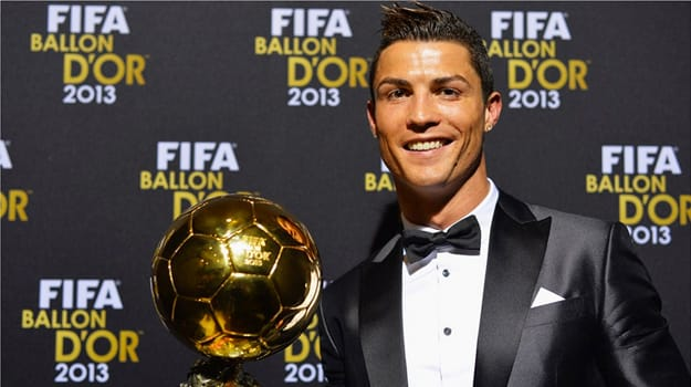 Cristiano Ronaldo player of the year