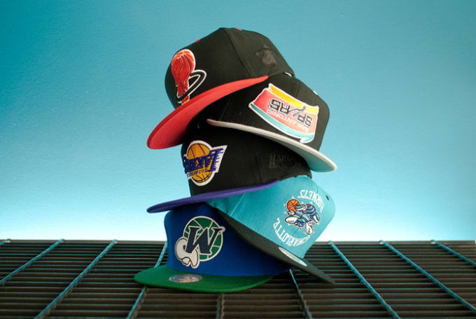 What better way to put the canceled NBA Season into perspective then some  snapback hats with your favorite throwback NBA team logos—upside down. 58ced557643