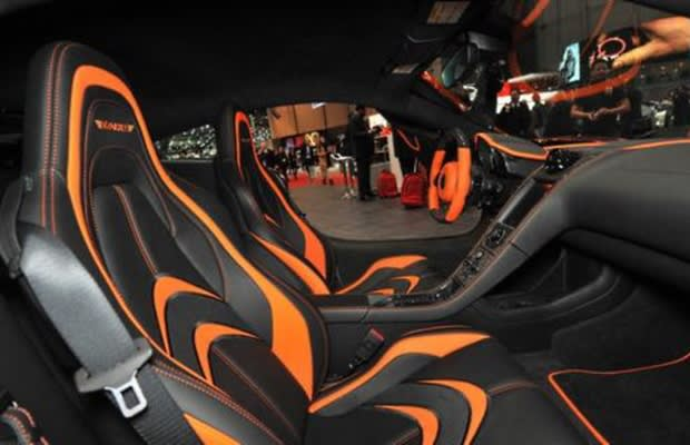 mansory mclaren mp4 12c the 50 most outrageous custom car interiors complex. Black Bedroom Furniture Sets. Home Design Ideas