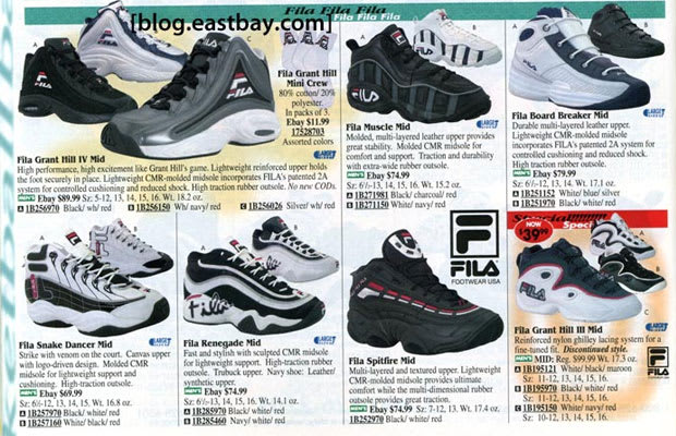 28de9d9ce26 25 Classic Sneakers From Vintage Eastbay Catalogs
