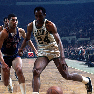 Sam Jones - The 25 Greatest Shooting Guards in NBA History ...