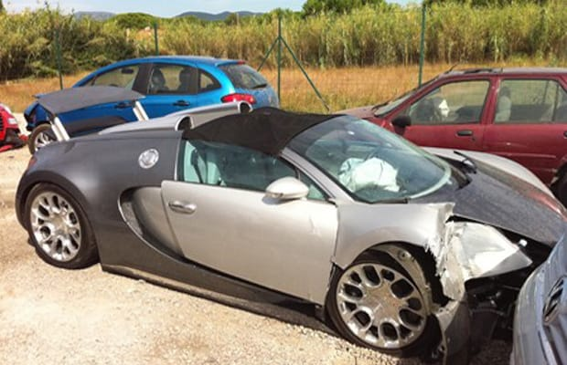 Awful Supercar Accidents Complex